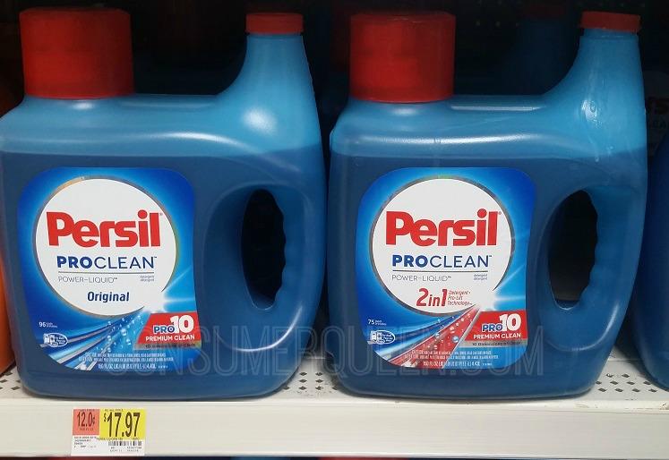 High Value Persil Liquid Detergent Coupon + Walmart Deal