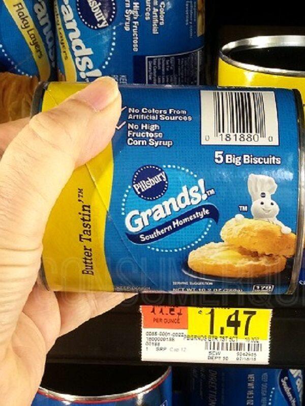 Pillsbury Grands Biscuits at Walmart
