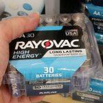 Rayovac Batteries 30-ct. AA/AAA BOGO Free at Ace Hardware
