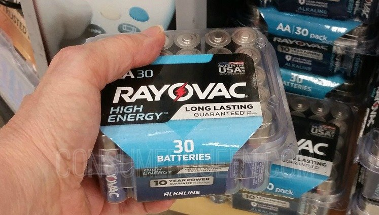 BOGO Rayovac 30 Count Batteries + More at ACE Hardware