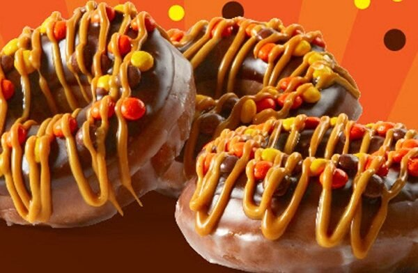 reese's outrageous donut
