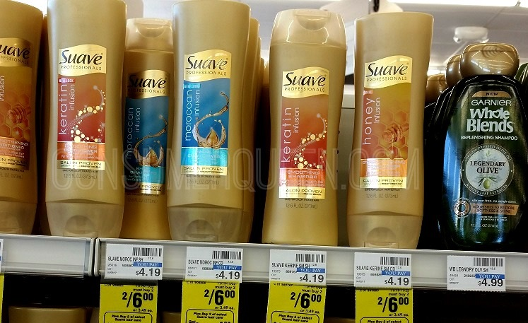 Suave Hair Care 50¢ at CVS After Rewards – Today Only