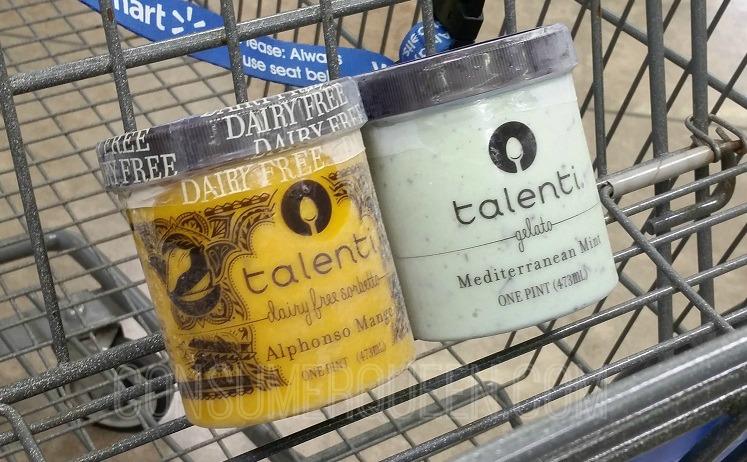 Talenti Gelato & Sorbetto $2.48 at Walmart After Cash Back
