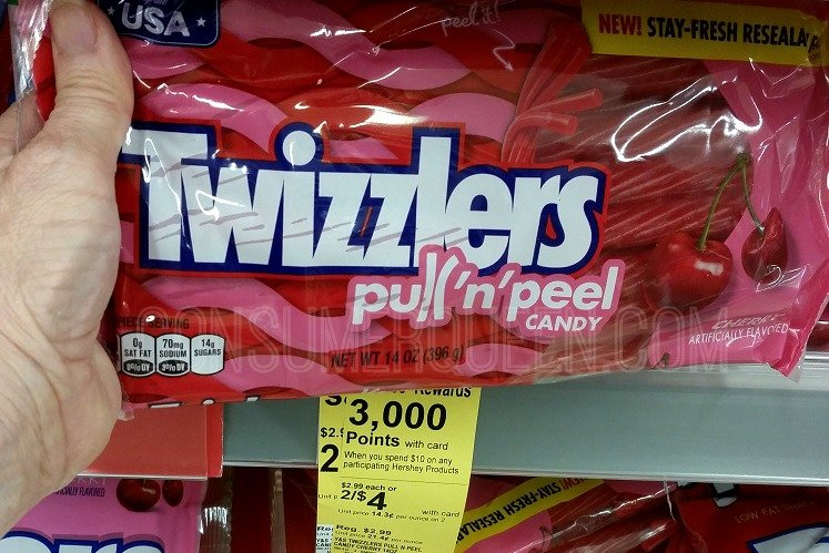 Twizzlers Candy Only $1.38 Each WYB 5 at Walgreens After Rewards