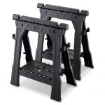 Blue Hawk Saw Horses (32-in) $19.98 a Pair At Lowes