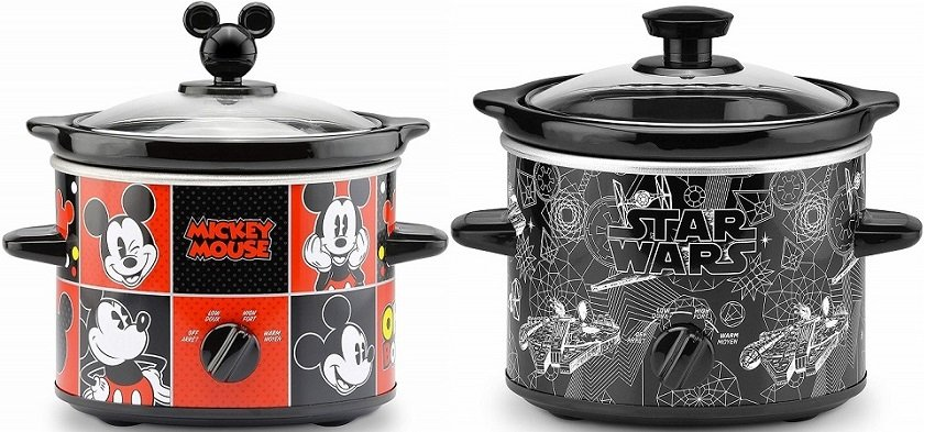 Disney Slow Cookers Only $15.60 on Amazon – Star Wars & Mickey