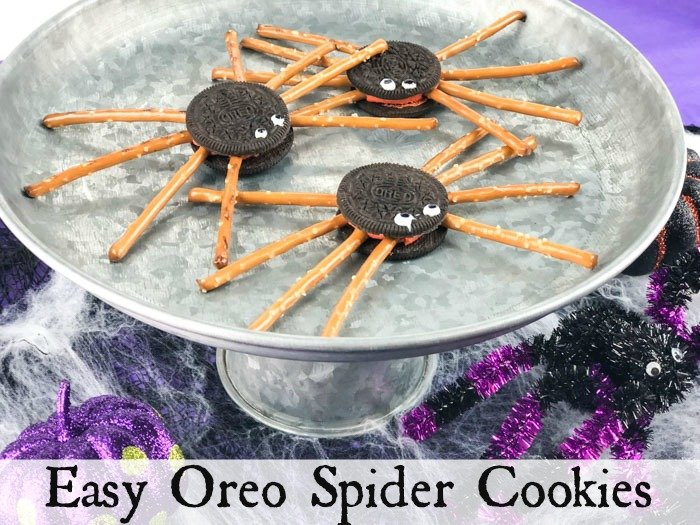 Easy Oreo Spider Cookies Pinterest