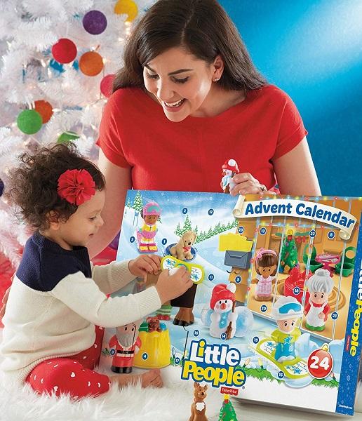 Amazon: Fisher-Price Little People Advent Calendar $28.45