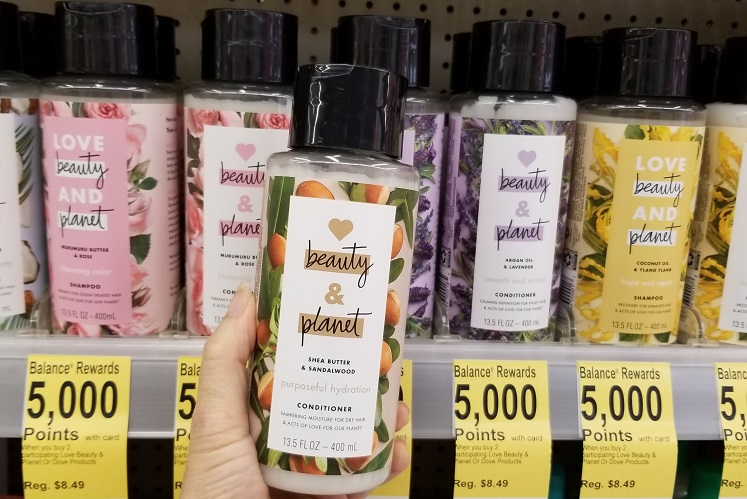 Beauty & Planet Hair Care 68¢ Each at Walgreens – Today Only