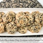 Low Carb Chocolate Chip Cookies Pinterest