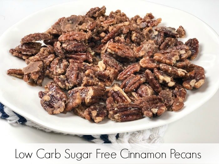 Low Carb Sugar Free Candied Pecans Pinterest