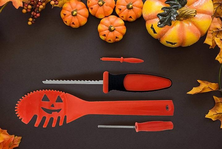 Pumpkin Carving Kit (12 -Piece) $5.99 At Amazon