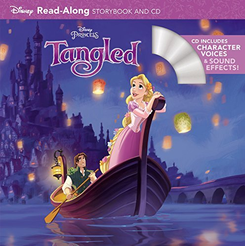 Tangled Read-Along Storybook and CD Only $2.70 At Amazon!