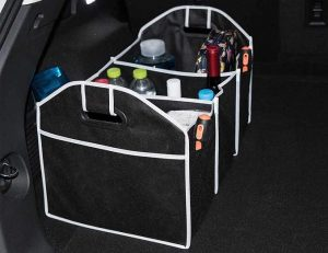 Collapsible SUV and Car Trunk Organizer