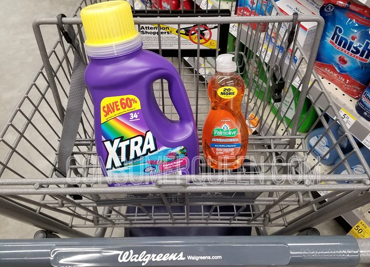 Xtra Laundry Detergent  Only 99¢ at Walgreens – No Coupon Needed
