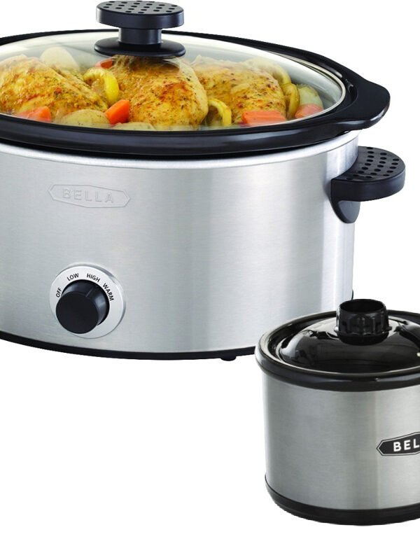 Bella 5 Quart Slow Cooker