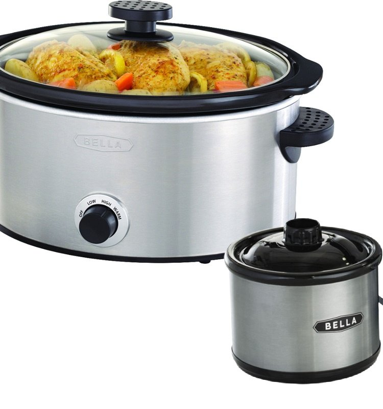 Bella 5 Quart Slow Cooker With Dipper $17.99 *EXPIRED*