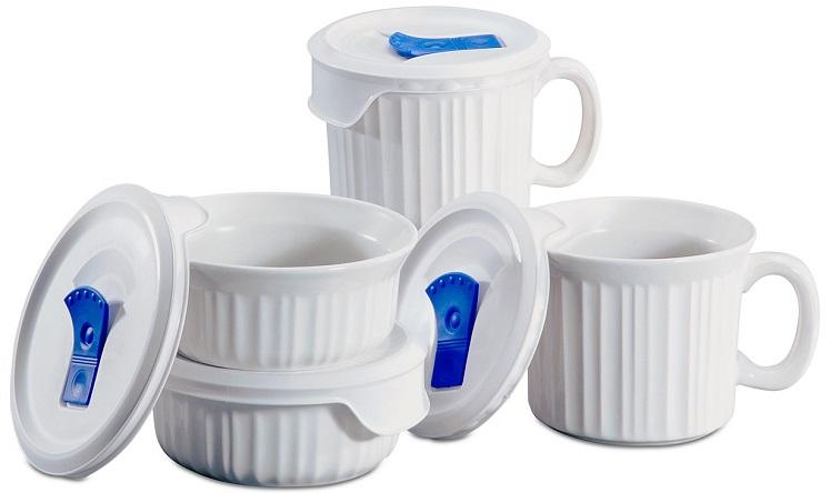 Corningware French White 8-Pc. Mug Set $22.73 at Macy's