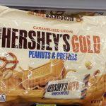 Hershey's Gold Minatures $1.50 Per Bag at CVS