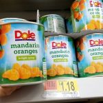 Dole Mandarin Oranges as Low as 56¢ at Walmart After Cash Back
