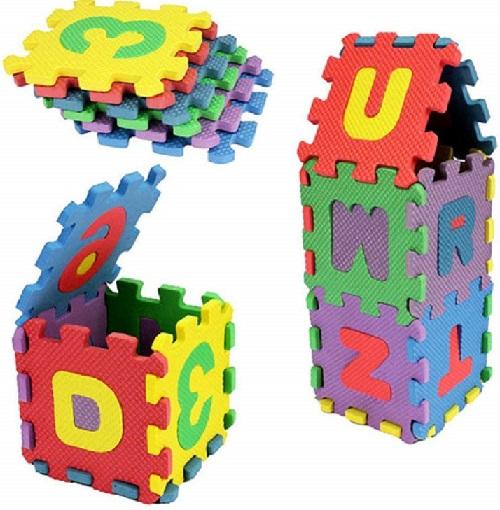 Dozenla Puzzle Mat Set 36-Pcs only $5 on Amazon W/Promo Code