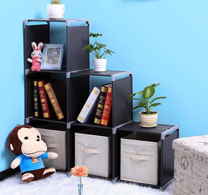 6 Cube Organizer $21.84 At Amazon