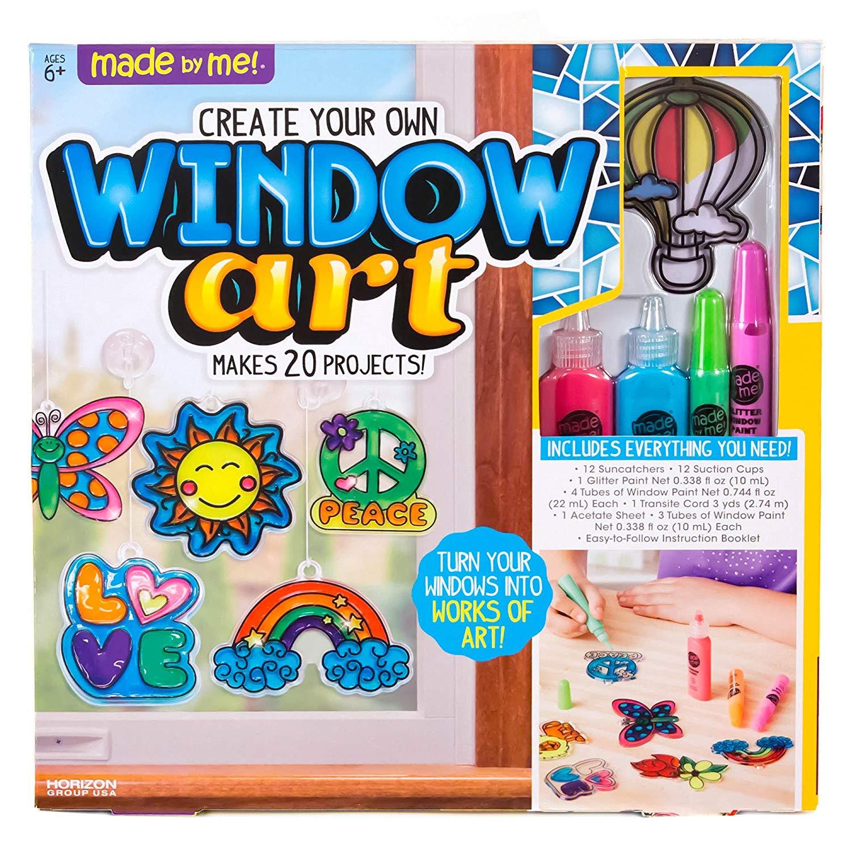 Window Art Craft Kit Only $9.97 (Reg. $18.99) At Amazon