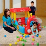 Fisher-Price Train Inflatable Ball Pit $19.98 on Amazon