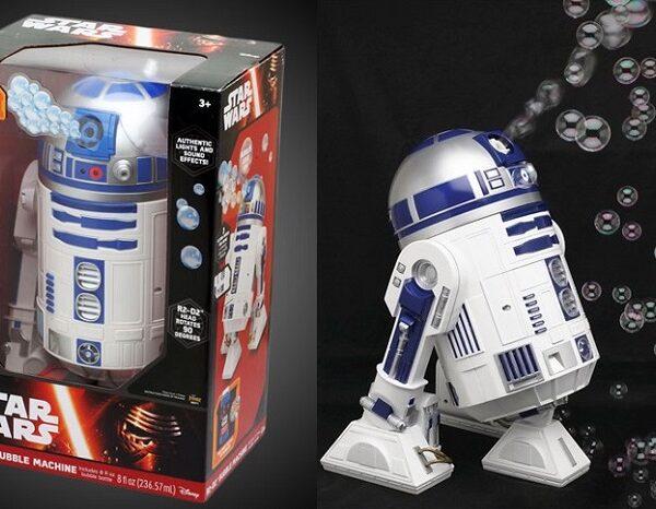 star wars R2D2 bubble machine