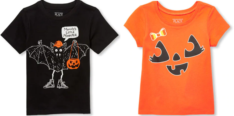 Children's Place Halloween Tees As Low As $1.99 Shipped