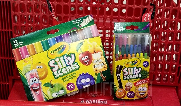Crayola Silly Scents 25% Off + Cartwheel Offer (as Low as $3.94)