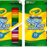 Crayola Washable Markers 20-ct. Only $2.60 Shipped!