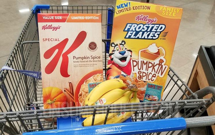 Kellogg's Pumpkin Spice Cereal Coupon + Walmart Matchups