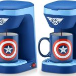 Marvel Captain America 1-Cup Coffee Maker with Mug $24.99 At Amazon