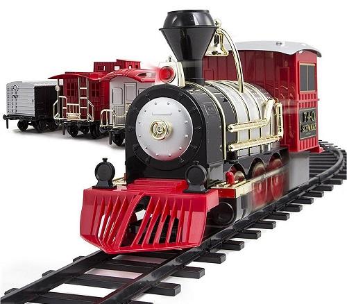 Motorized Train Set by FAO Schwartz only $49.99 at Macy's