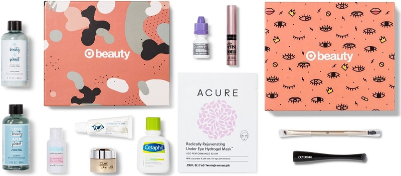 target october beauty boxes