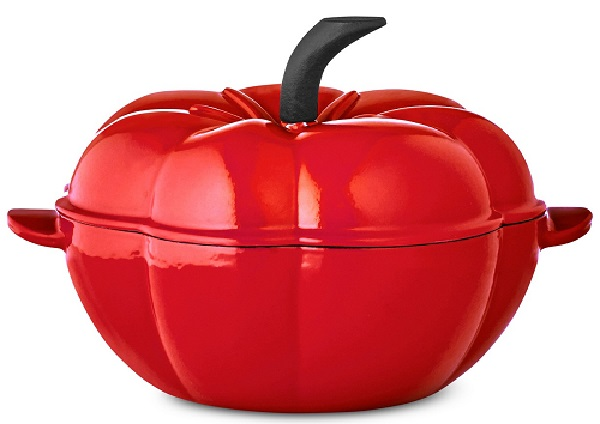 Tomato Cast Iron Dutch Oven (2Qt.) by Martha Stewart only $27.93 at Macy's