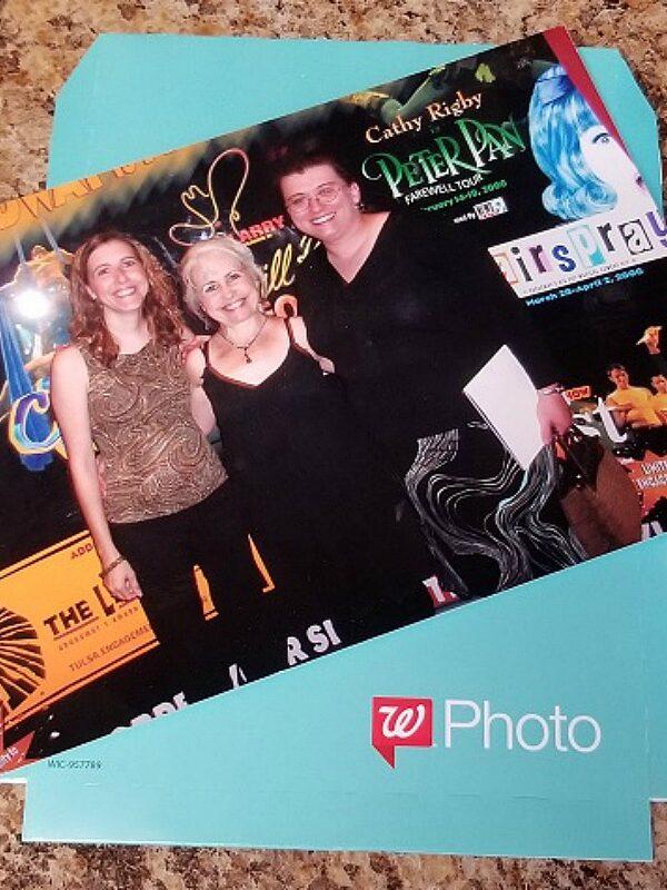 two free 5x7 photo prints at walgreens