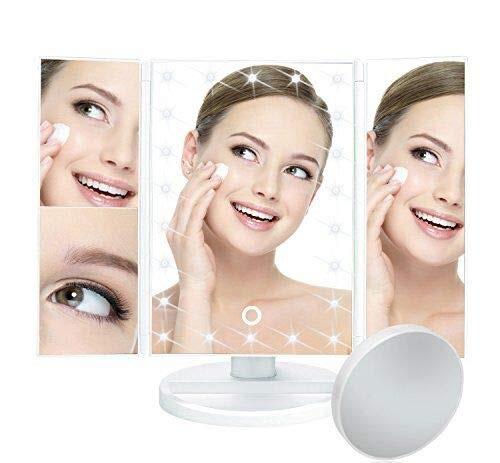 Vanity Makeup Mirror only $15.99 W/ Promo Code on Amazon
