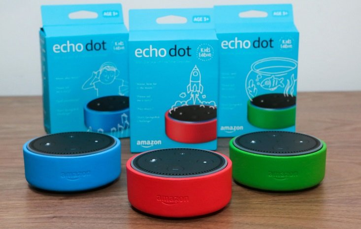 Echo Dot Kids Edition: Bundle of 3 Only $99.97 At Amazon