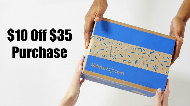 New Walmart Online Customers – $10 Off $35 Order