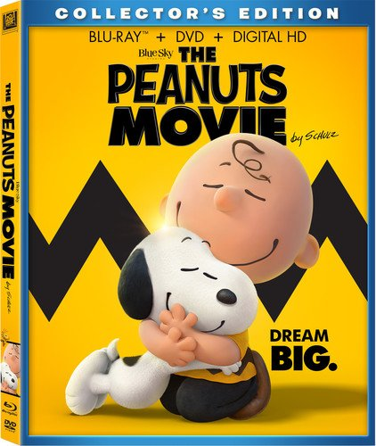 The Peanuts Movie: Blu-ray + DVD + Digital $3.99 At Amazon