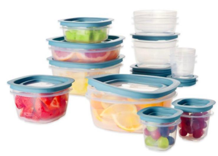 Rubbermaid Flex & Seal 26-Piece Food Storage Set 50% off at Bed Bath & Beyond