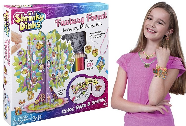 Shrinky Dinks Fantasy Forest Jewelry Making Kit $7.93 At Amazon