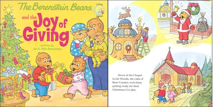 """Berenstain Bears """"The Joy of Giving"""" Book Only $2.59 Shipped"""