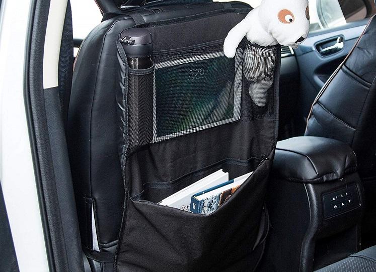 Car Seat Organizer Kick Mats (Pack of 2) $6 At Amazon