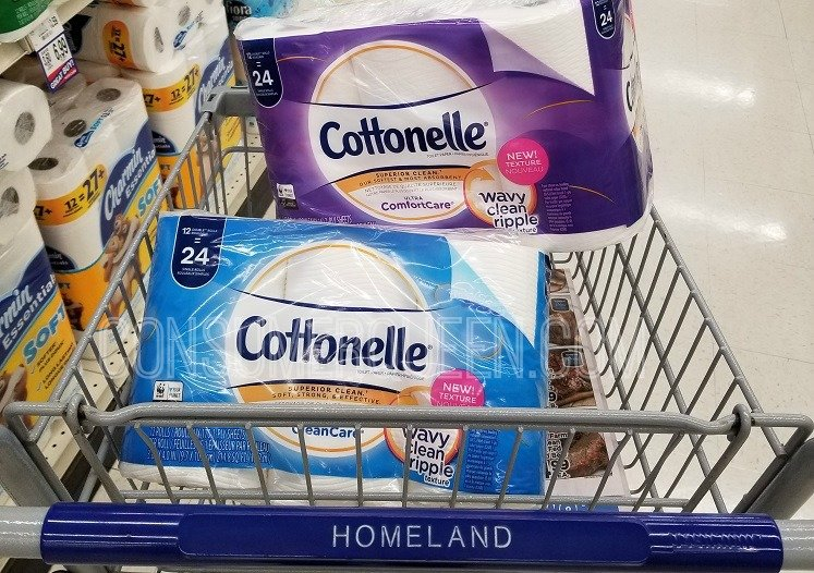 Cottonelle Bath Tissue – Nice Price W/Doubled Coupon at Homeland