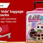 Target Daily Toy Deal – 40% Off Kid's Luggage & Backpacks