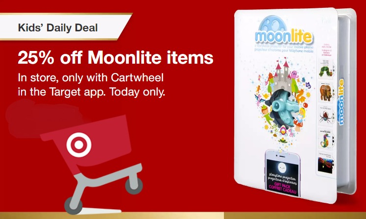 Target Daily Toy Deal – 25% Off Moonlite Story Projectors