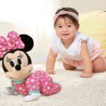 minnie mouse plush crawling